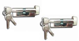 Ellbee Pair Of Eurolock 60mm Static Lock Barrel Amp Keys